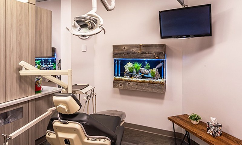 D'Amico and Mauck DDS dental chair